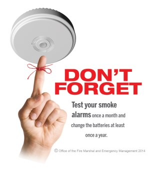 Image result for check your smoke alarm